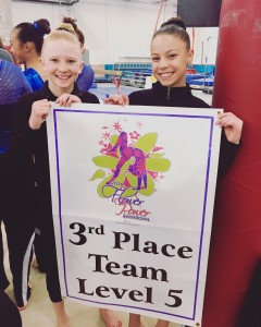 3rd Place Team Finish L5 Annika_Maddie Pic (3 12 16)