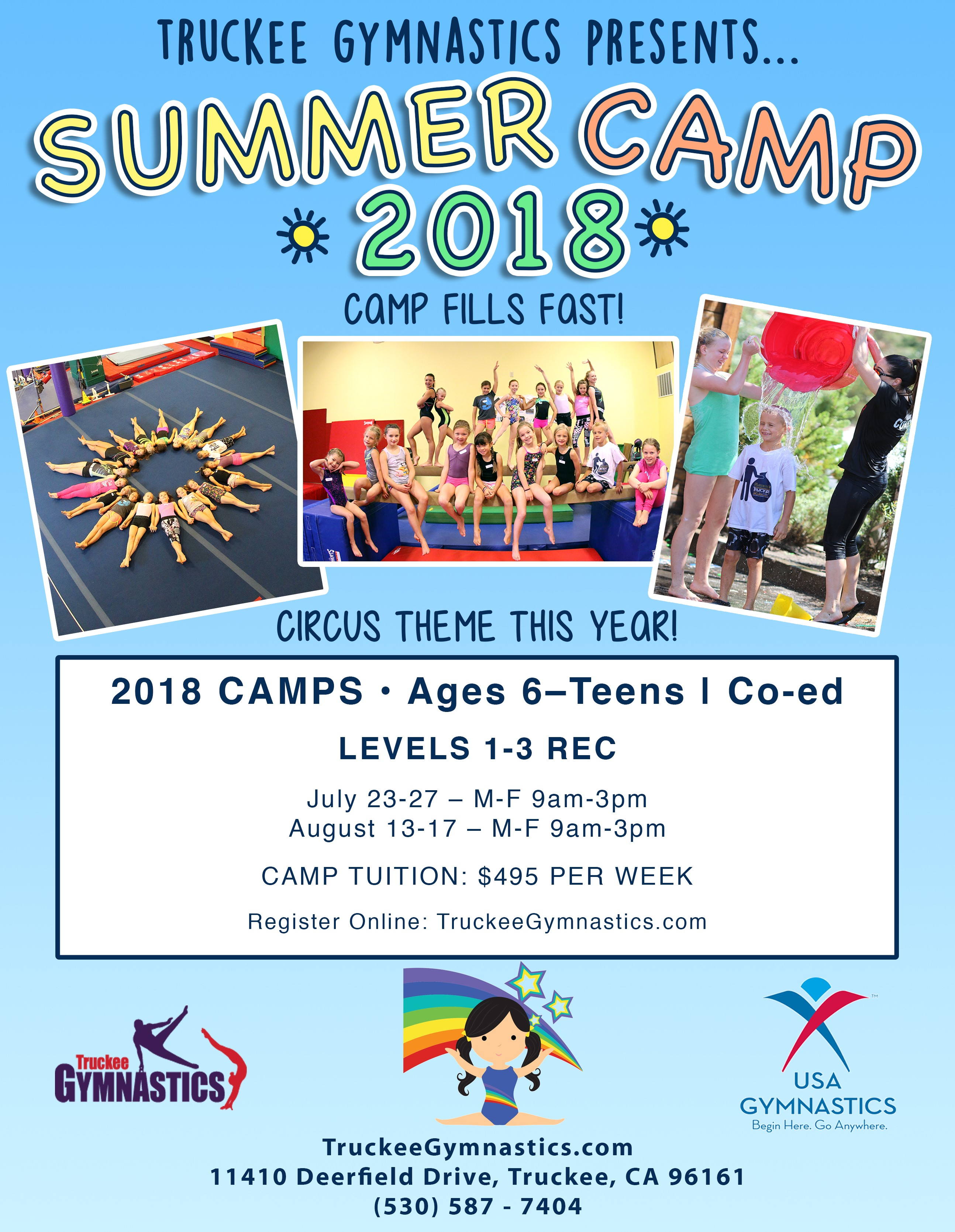 Summer Camps 2018 | REGISTRATION NOW OPEN
