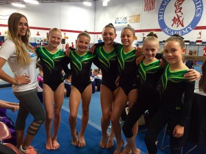 Team Group Picture Truckee Gymnastics (9 26 15)